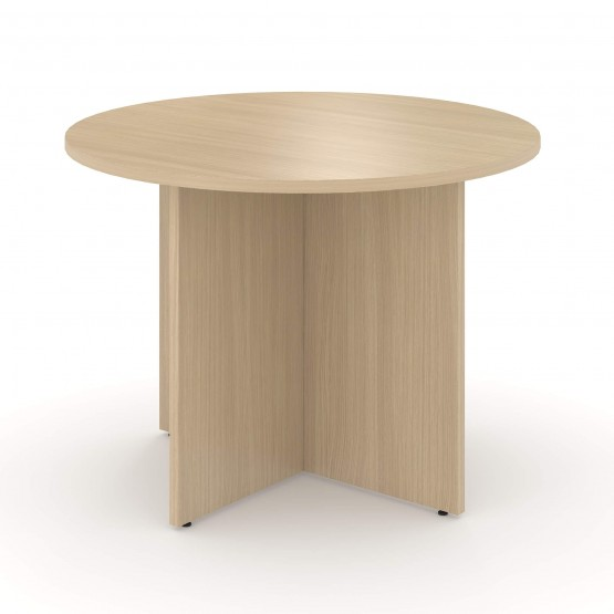 Optima Small Round Meeting Table for 4 Persons photo