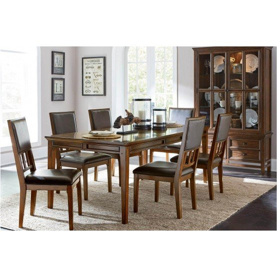 Frazier Park Wood Dining Set photo