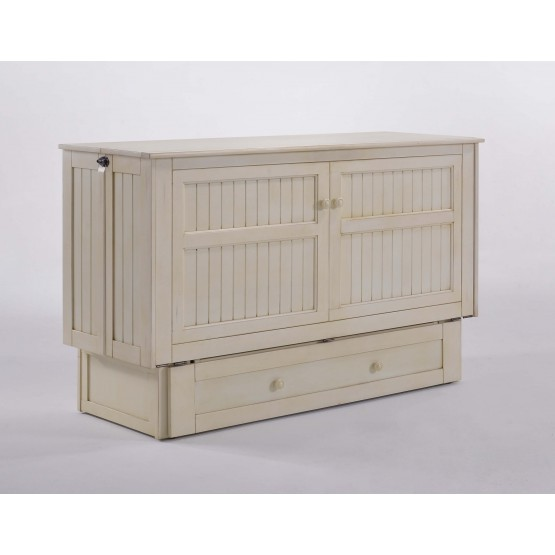 Daisy Murphy Wood Cabinet Bed w/Mattress photo