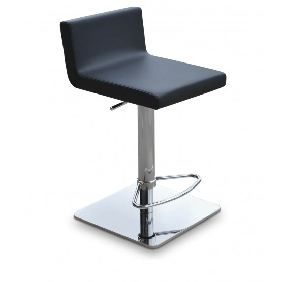 Dallas Piston Square Base Steel Stool photo