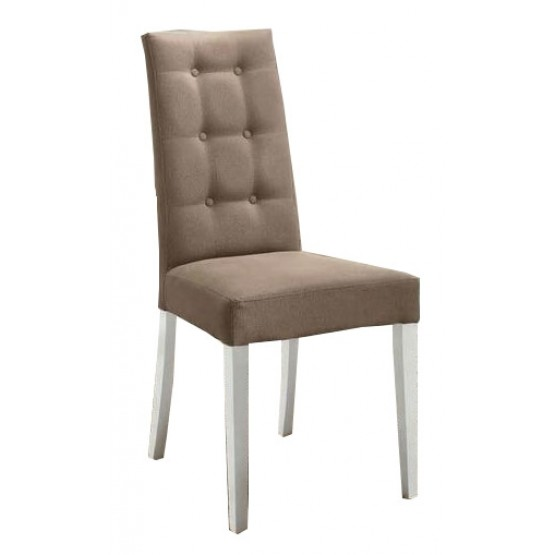 Dama Bianca Eco-Leather Dining Chair photo