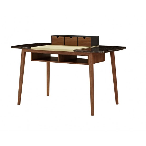 Dana Modern Office Desk with Storage Bins photo