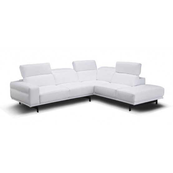 Davenport Leather Sectional photo
