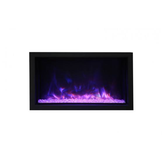Panorama DEEP XT Glass Electric Fireplace photo