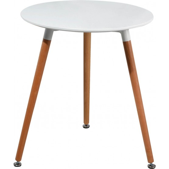 903 Modern Round Wood Dining Table photo