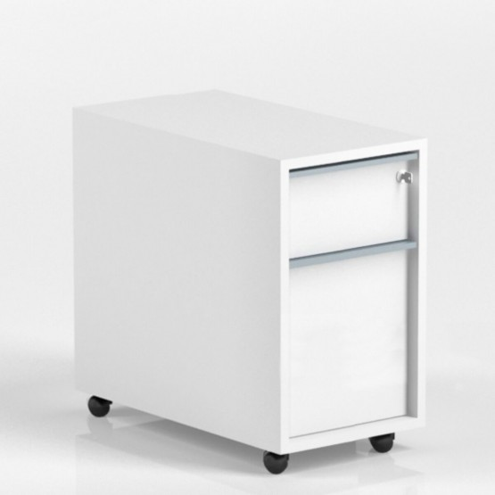 Nova Mobile Pedestal w/2 Drawers and Central Locking photo