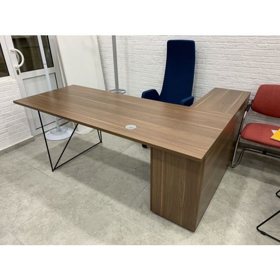 Air Office Desk w/Extended Top & Left Cabinet photo