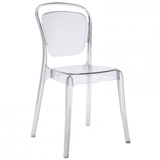 Entreat Dining Side Chair, Clear photo
