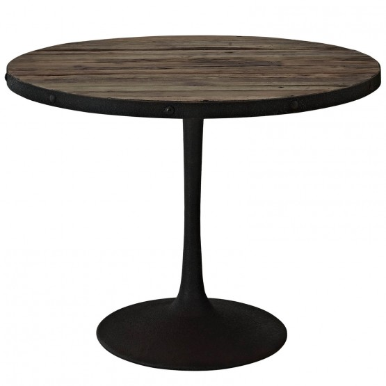 Drive Wood Top Dining Table photo
