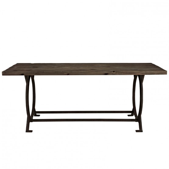 Effuse Wood Top Dining Table photo