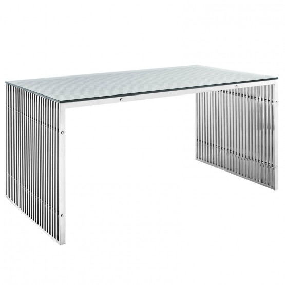 Gridiron A Stainless Steel Dining Table photo