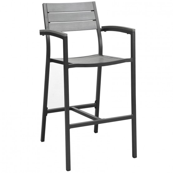 Maine Outdoor Patio Bar Stool photo