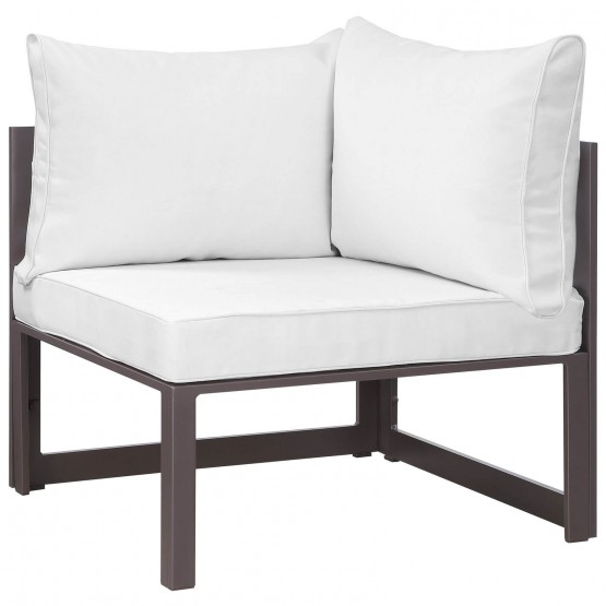 Fortuna Corner Outdoor Patio Armchair photo