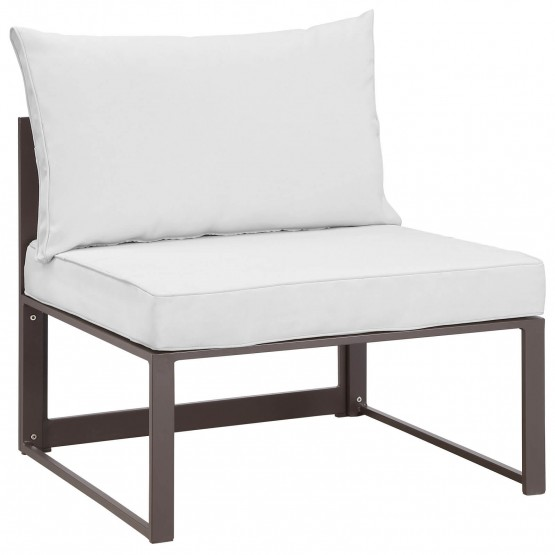 Fortuna Outdoor Patio Armless Chair photo
