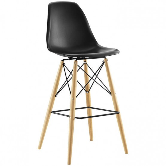 Pyramid Plastic Bar Stool photo