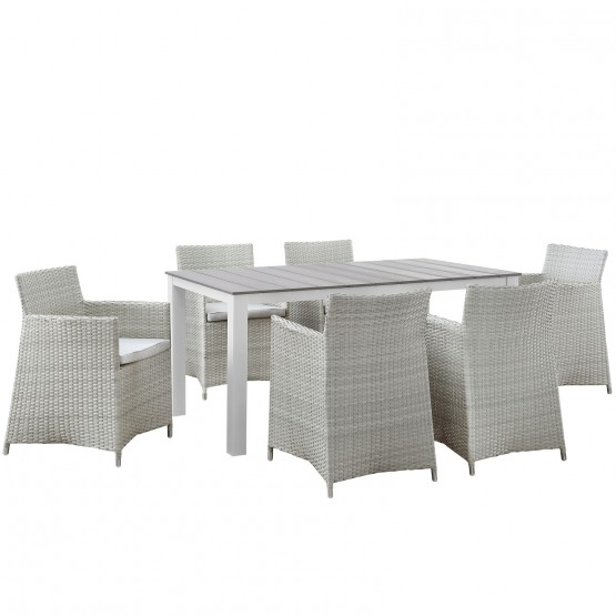 Junction 7 Piece Outdoor Patio Dining Set photo
