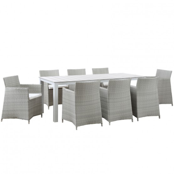 Junction 9 Piece Outdoor Patio Dining Set photo
