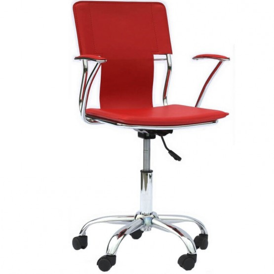 Studio Office Chair, Red photo