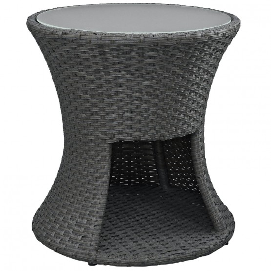 Sojourn Round Outdoor Patio Side Table photo