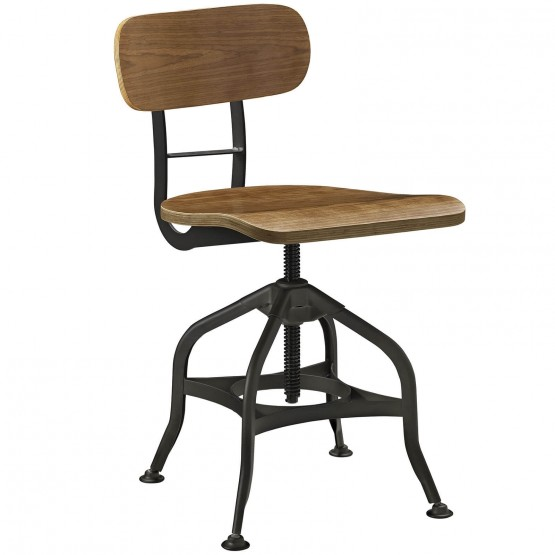 Mark Wood Dining Stool photo