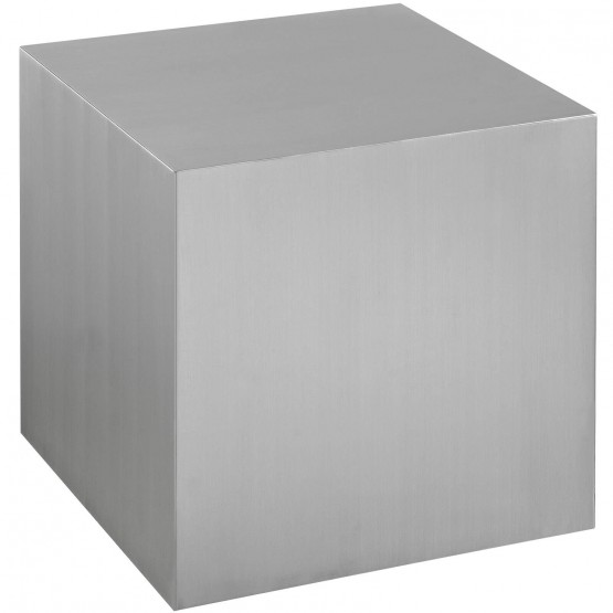 Cast Stainless Steel Side Table photo