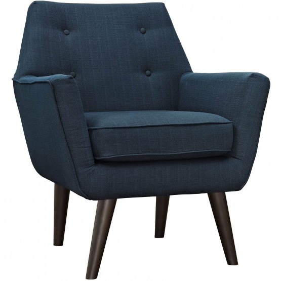 Posit Upholstered Fabric Armchair photo