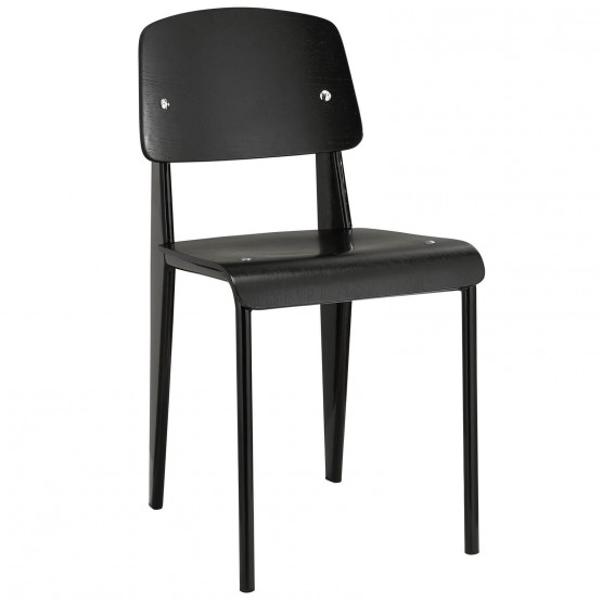 Cabin Dining Side Chair, Black photo