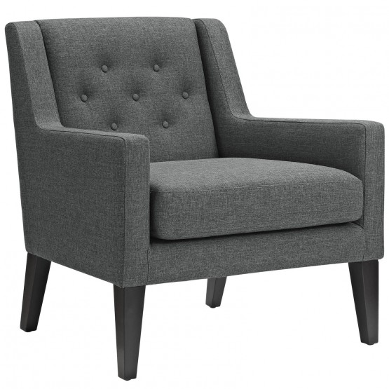 Earnest Upholstered Fabric Armchair photo