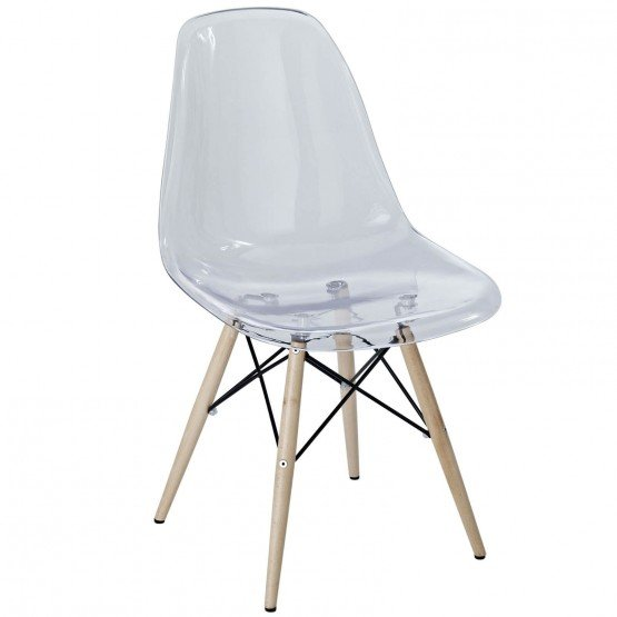 Pyramid Plastic Dining Side Chair photo