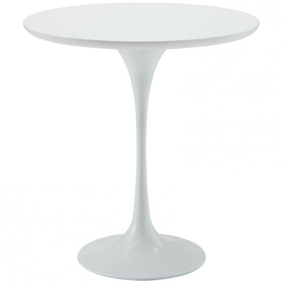 Lippa Wood Side Table, White photo