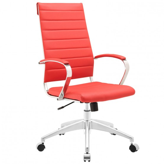 Jive Highback Office Chair, Red photo