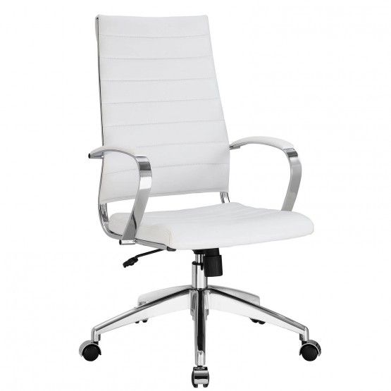Jive Highback Office Chair, White photo