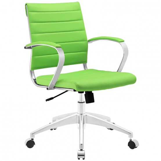 Jive Mid Back Office Chair, Bright Green photo