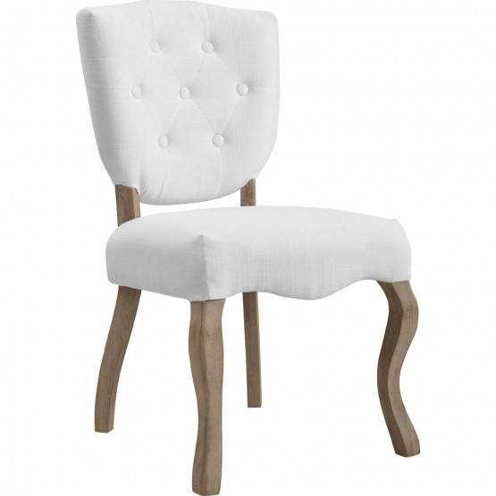 Array Vintage French Upholstered Dining Side Chair photo