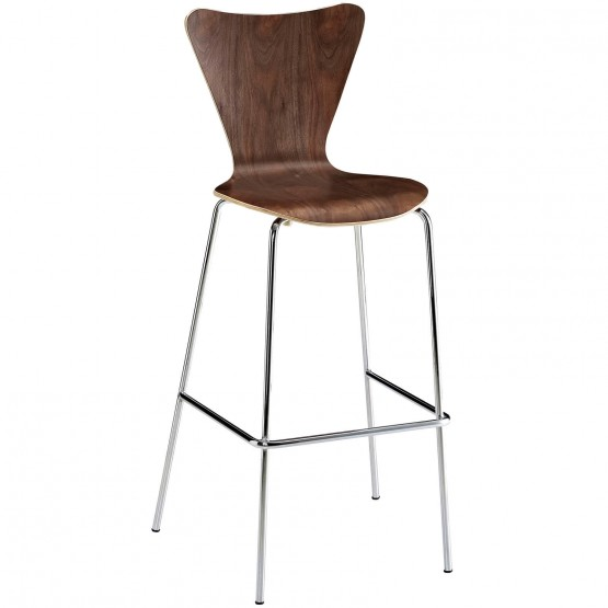 Ernie Bar Stool, Walnut photo