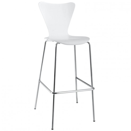 Ernie Bar Stool, White photo