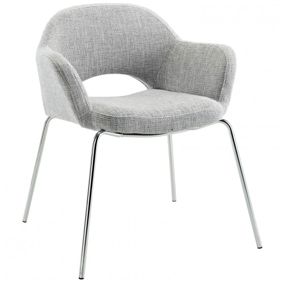 Cordelia Dining Armchair, Light Gray photo