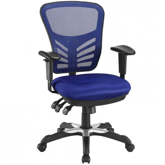 Articulate Office Chair, Blue photo