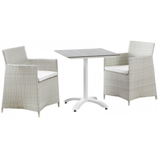 Junction 3 Piece Outdoor Patio Dining Set photo