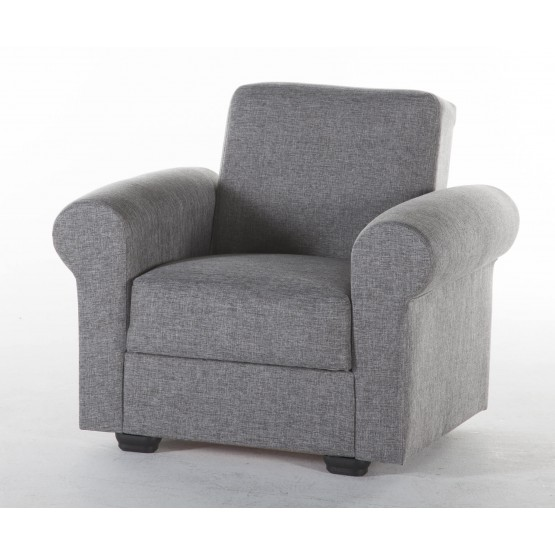 Elita Fabric Storage Sleeper Armchair photo
