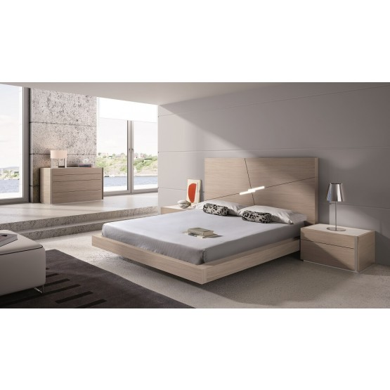 Evora Premium LED Platform Bedroom Set photo