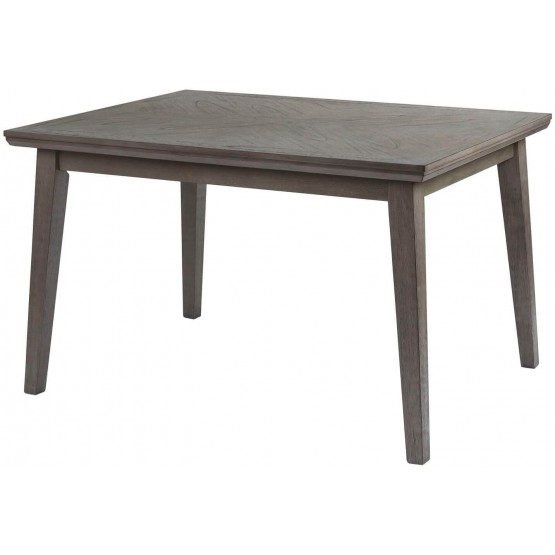 University Transitional Rectangular Wood Dining Table photo