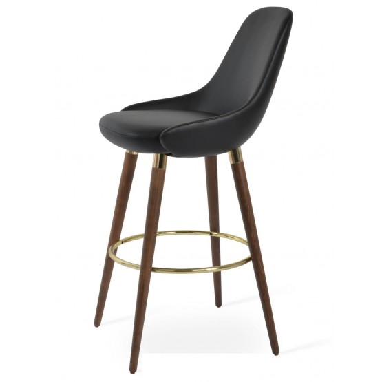 Gazel Wood Barstool photo