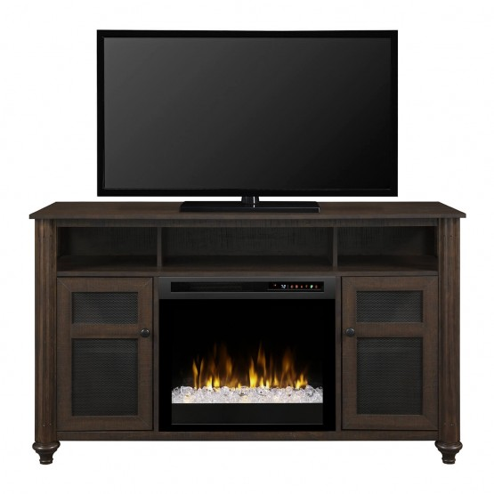 Xavier Media Console Electric Fireplace photo