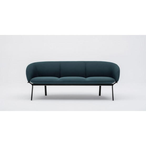 Grace 3-Seater Office Sofa photo