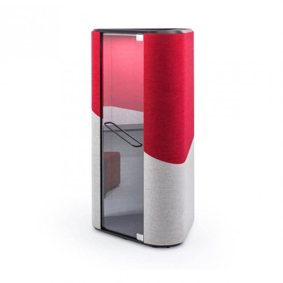 Hana Soundproof Acoustic Phone Office Booth photo