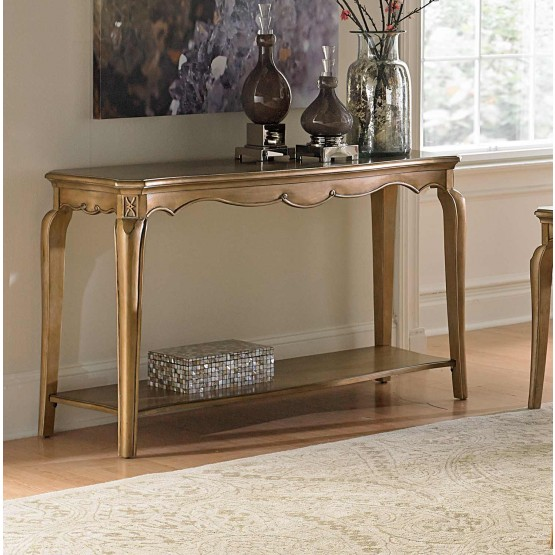 Chambord Wood Veneer Console Table photo