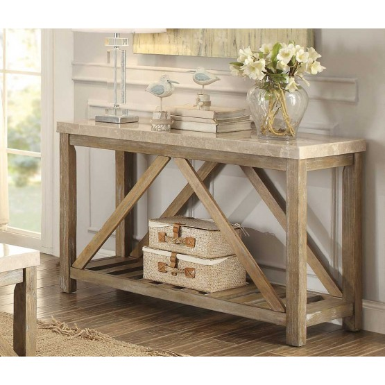 Ridley Marble Console Table photo
