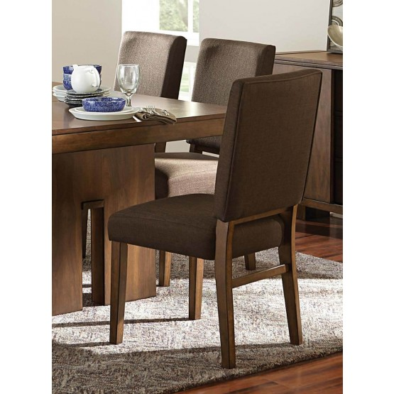 Sedley Contemporary Fabric/Wood Dining Chair photo
