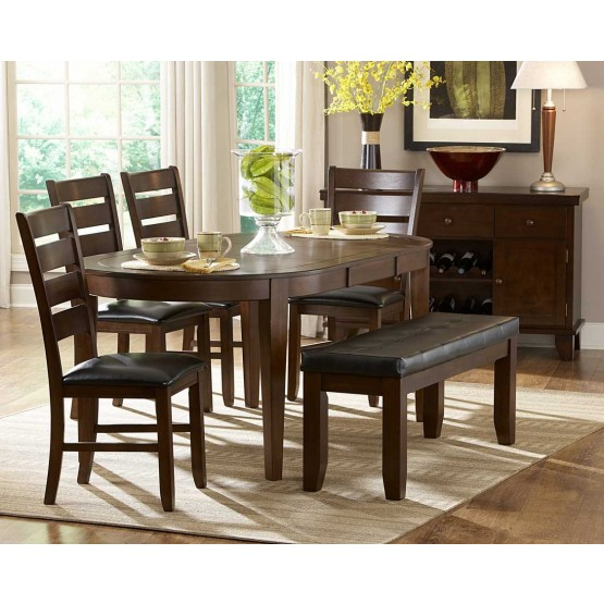 Ameillia Classic Oval Dining Room Set photo